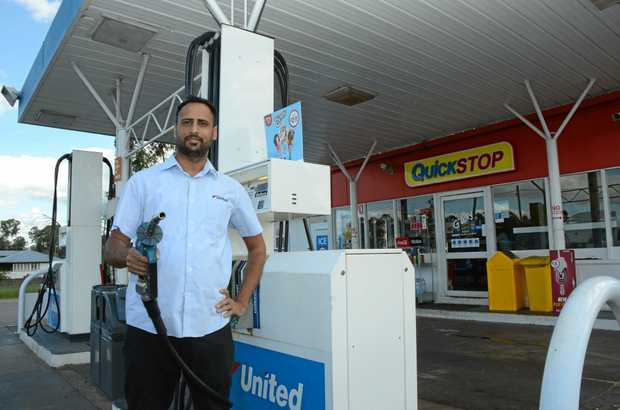 United Petroleum Nanango Station Manager Bali Sandhu said he'll need to hire new staff when work on the road house is finished.