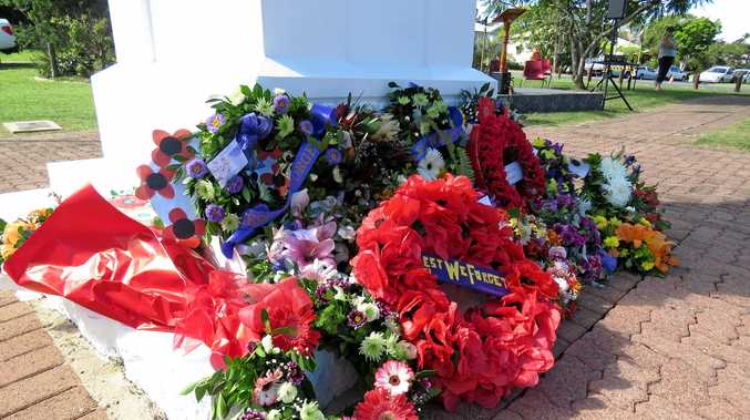 Anzac Day 2016 at Cooroy