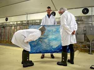 Art meets meat factory at Beef Week