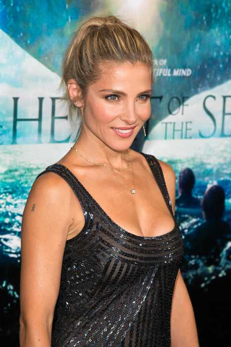 "Elsa Pataky attends the premiere of ""In the Heart of the Sea"" at Jazz at Lincoln Centers Frederick P. Rose Hall on Monday, Dec. 7, 2015, in New York. (Photo by Charles Sykes/Invision/AP)"