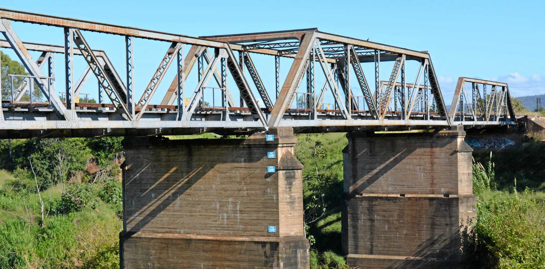 PROJECT: A $1.4 million strengthening project on the Lockyer Creek rail bridge in Gatton is now complete, improving the safety and reliability of the century-old structure.