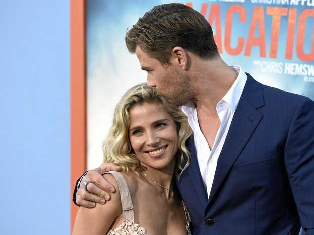 Elsa Pataky, left, and Chris Hemsworth dated for 10 months before getting married.