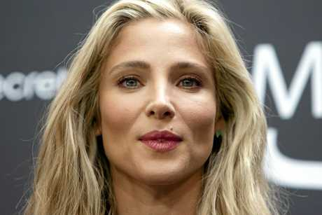 Spanish actress Elsa Pataky.