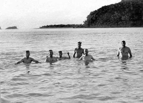 Morning Dip, Brampton Island, c 1931.