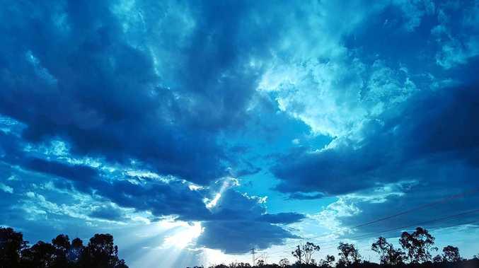 STUNNING CQ WEATHER: Karen Bird took this photo between Dingo and Duaringa.