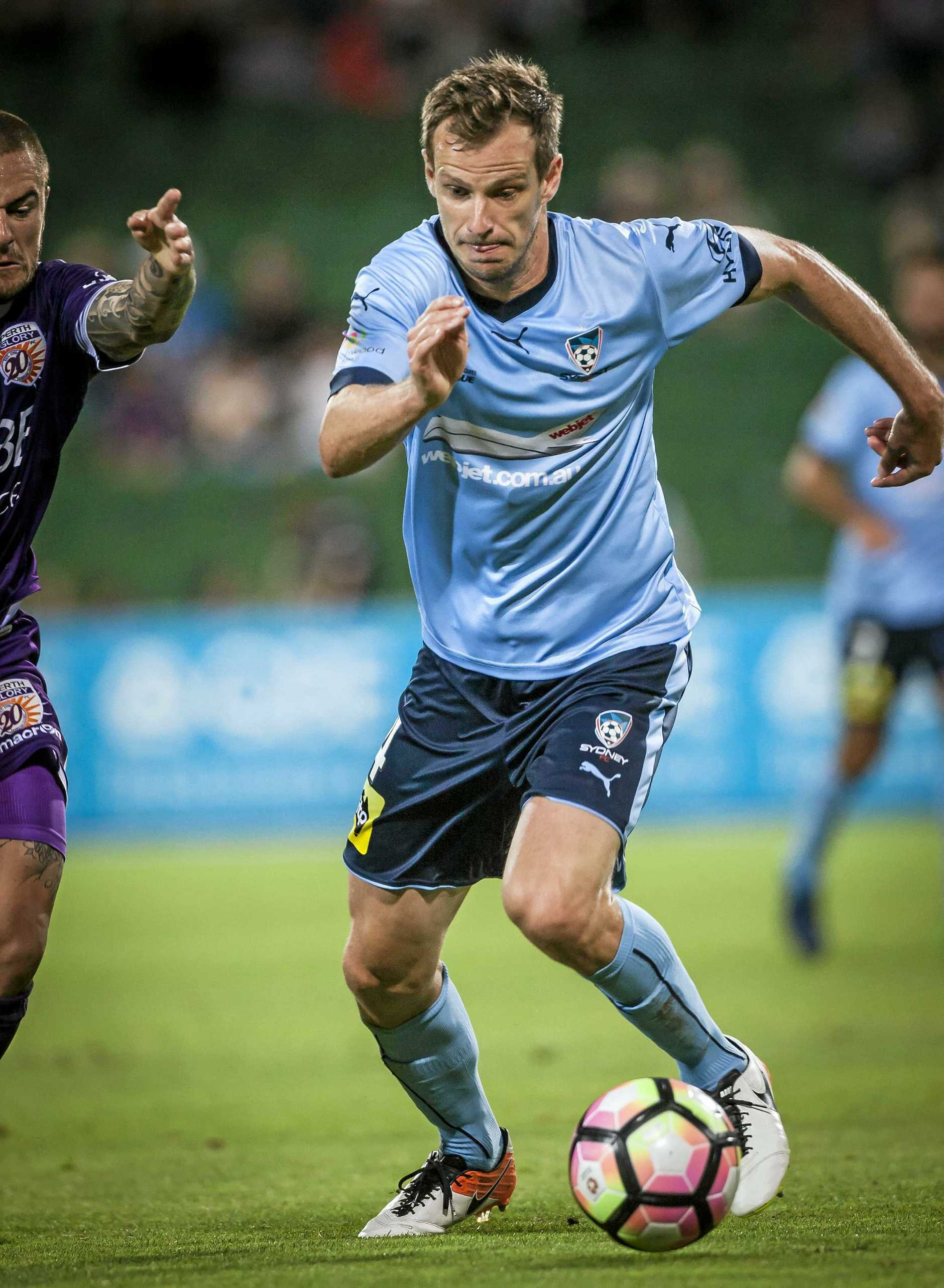 Alex Wilkinson of Sydney FC.