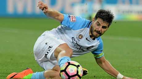 Melbourne City striker Bruno Fornaroli.
