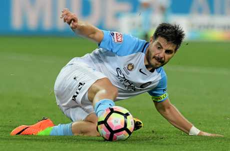 Melbourne City striker Bruno Fornaroli.