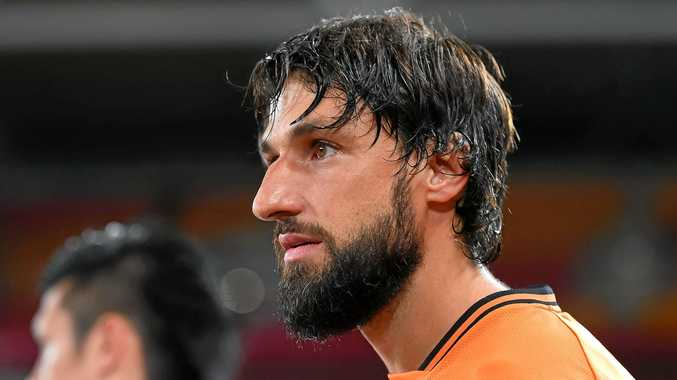 Thomas Broich of the Brisbane Roar.