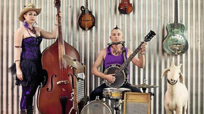 WIDGEE-BOURND: Golden Guitar winners Bryce and Mahney Wearne are the backbone of the Hill Billy Goats and have just been nominated for the Golden Guitar at Tamworth 2017.