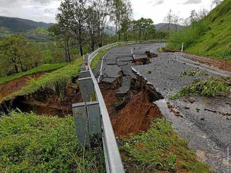 BIG DAMAGE: A huge job lays ahead to restore the Sarina Range.
