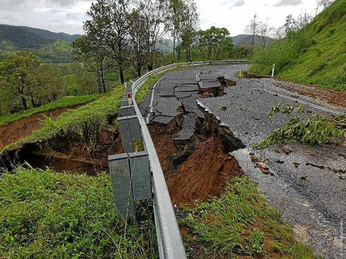 MAJOR DAMAGE: A huge job lies ahead to restore the Sarina Range.