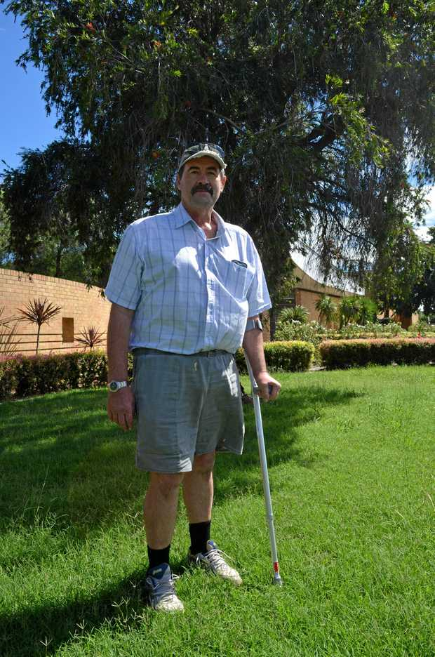 ON THE MEND: Warwick beekeeper Paul Reid is walking and driving, four months after he was left for dead in a terrifying hit and run.