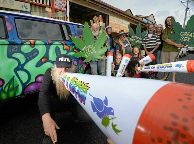 WHERE THERE'S SMOKE: Nimbin celebrates the 4:20 date in the lead up to MardiGrass.