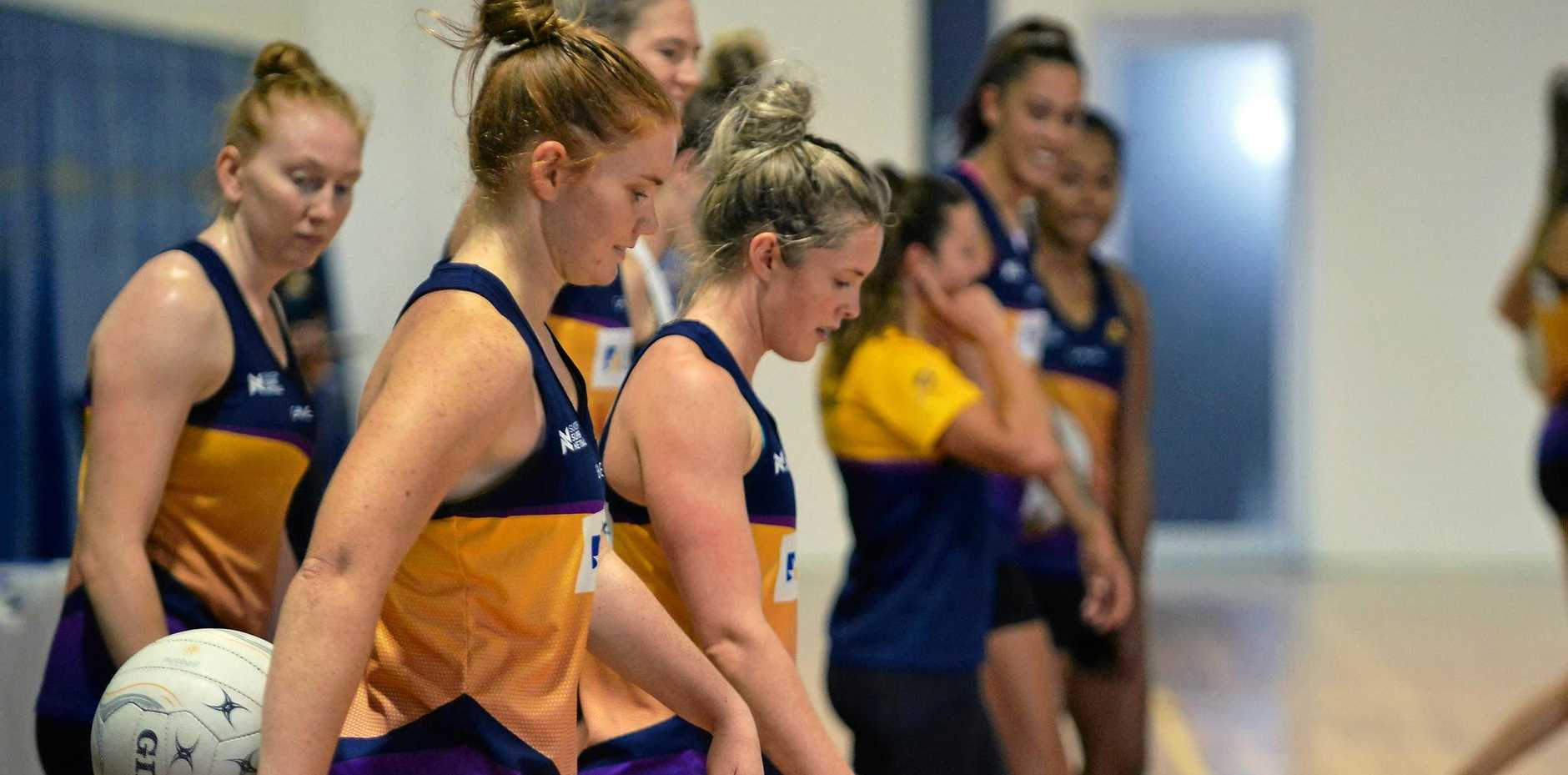 NOT DISTRACTED: Stephanie Wood says the side is focussed ahead of its clash with the Thunderbirds.