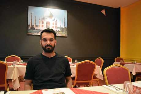 NOT FAIR: Amit Grover, chef at Warwick's new Maple Indian Gourmet restaurant was shocked to hear of changes to citizenship process.