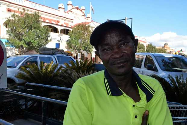 Jimmy Tatamugar has been trying to become an Australian citizen for two years.