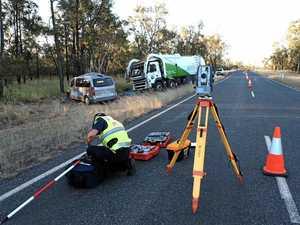 Elderly woman stable after horror highway fatal crash