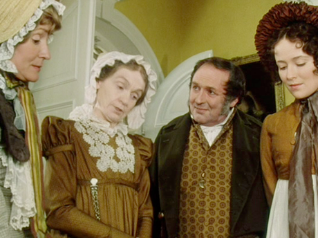 PERIOD DRAMA: Costumes from the 1995 BBC series Pride and Prejudice.