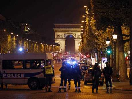 The Champs Elysees has been the site of a terror attack, which has left one policeman dead and more wounded.