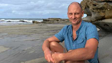 Geoff Gearheart is a fascinating man, who's lived all over the world with his partner Liz Johnstone and daughter Ella, 3, and he can't believe how lucky the Sunshine Coast is as a region.