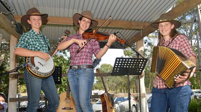 GOOD TIMES: Young Trio With One Accord lit up the Laidley Heritage Weekend last year.
