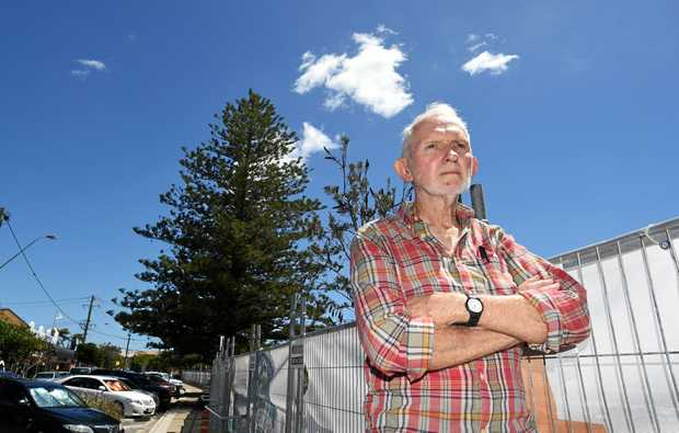 Cr Ron Cooper is determined to have a three-storey height limit in Kingscliff.