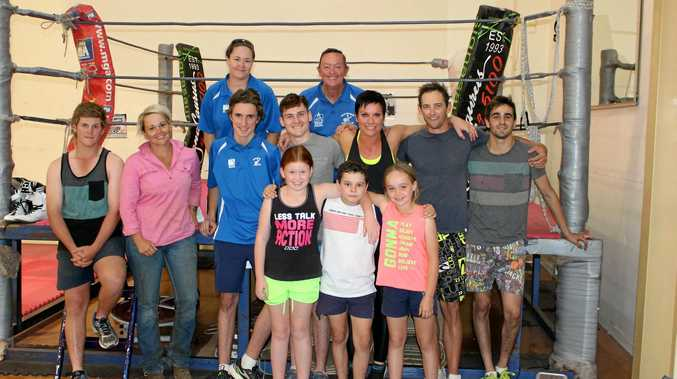 FIGHT CLUB: Maranoa PCYC Boxing Club members said the family-like relationship between its fighters set them apart from their competitors.
