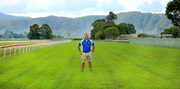 Tweed River Jockey general manager Brian Charman on the strongly recovering Murwillumbah track