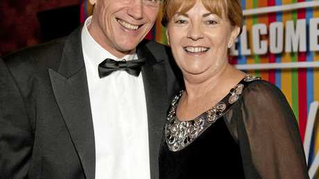 Our Kids Winter Ball, Dr Chris Ingall (Founder of Our Kids) and Cath Ingall. Photo Contributed The New Camera House
