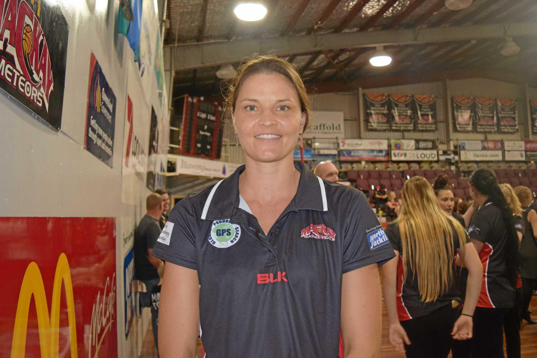 Mackay Meteorette's co-captain Tammi Willey.