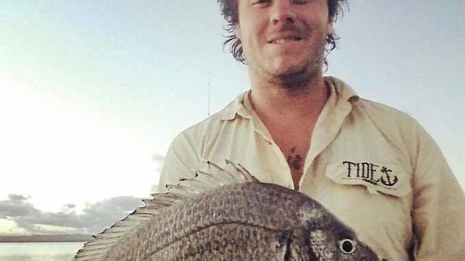 ABOVE: Beau Knight got onto some great fish over the weekend, this bream went 38cm.