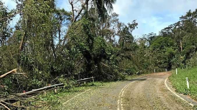 Roads in Eungella were a
