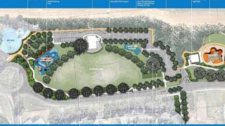 Updated development plan in Seafront Oval.