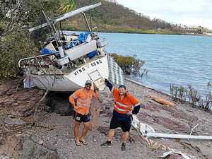 Ricky to the rescue in the cyclone-affected Whitsundays