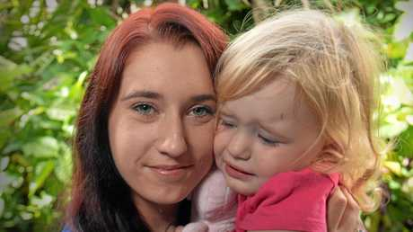 Shanay Skinley, 24, has stage-three emphysema. Stage four could come at any time, and she fears she wont live to see her 2-year-old daughter Mia Skinley grow up.