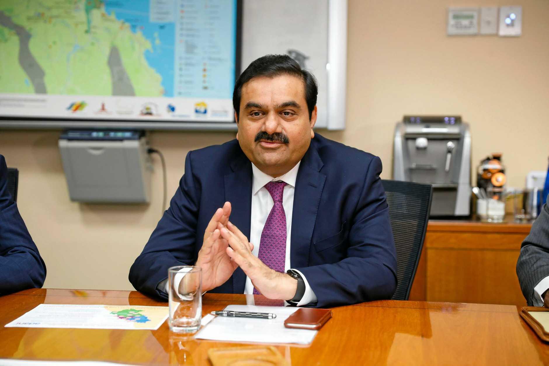 Adani Group chairman Gautam Adani (AAP Image/ Cameron Laird)