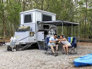 I can take my SUV...where? Women enjoy camping expo