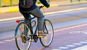 BIKE BENEFITS: A new study has found by cycling to work you can cut the chance of cancer and heart disease by 50%.