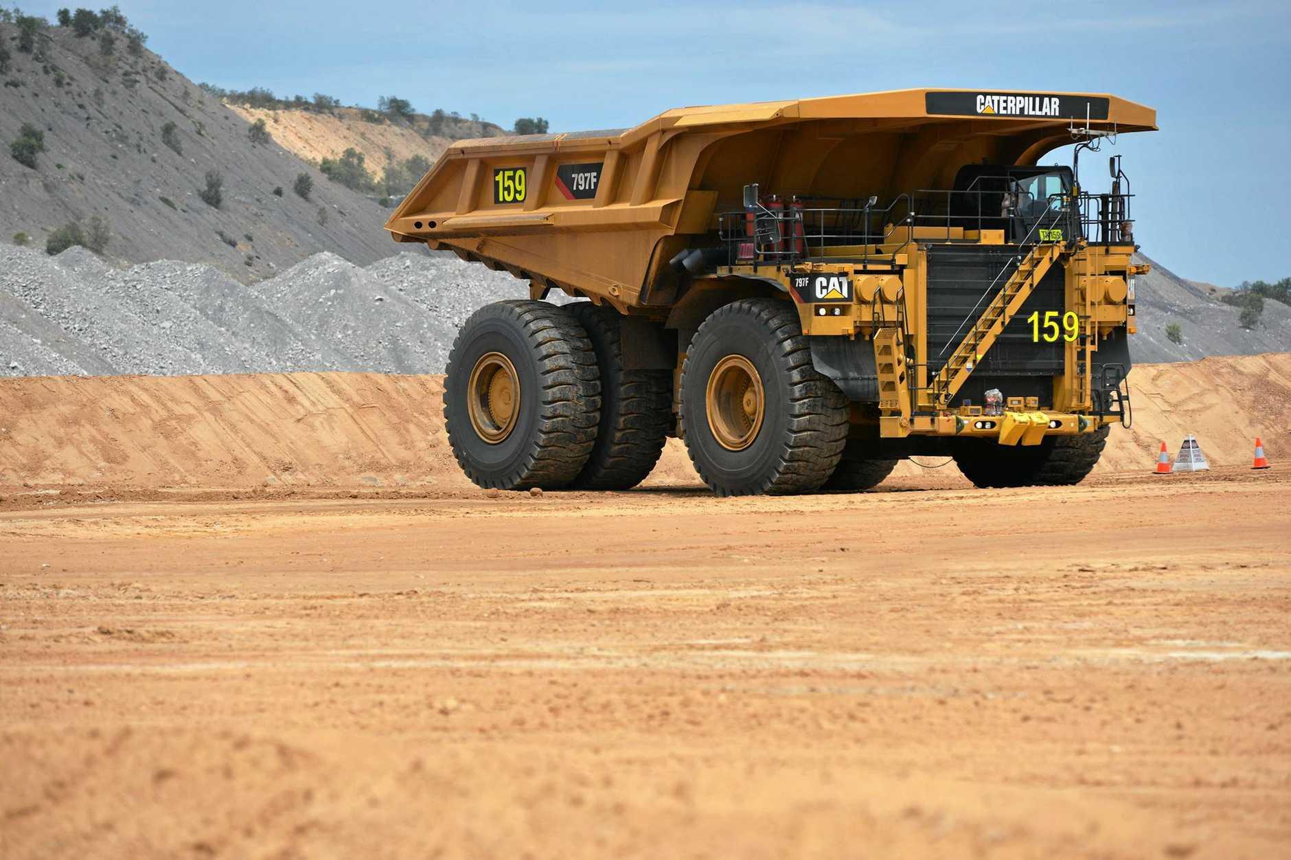 Caval Ridge Mine opening- 100% FIFO mine  Photo Lee Constable / Daily Mercury