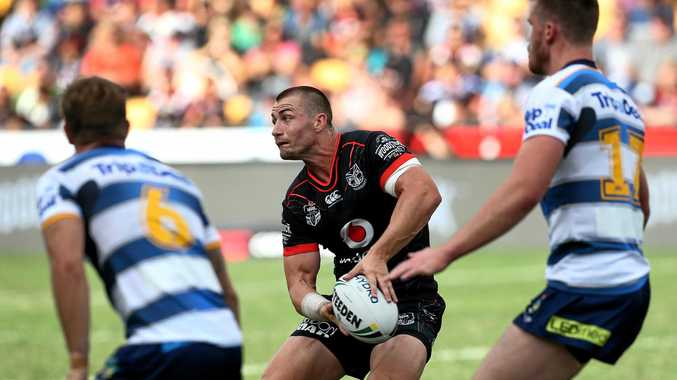 Kieran Foran of the New Zealand Warriors.
