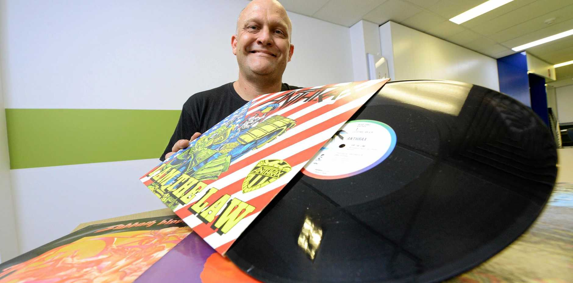 Jason Woodward is organising the Ipswich Records Fair at the Ipswich Showgrounds.