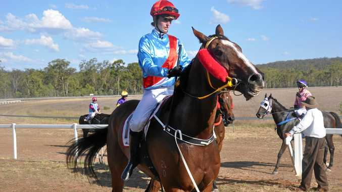 Chelsea Jokic at Eidsvold race track in March.