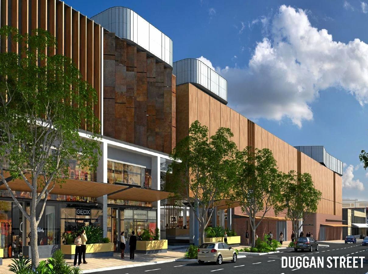 GRAND PLAN: QIC will transform Duggan St as part of the Grand Central rebuild.
