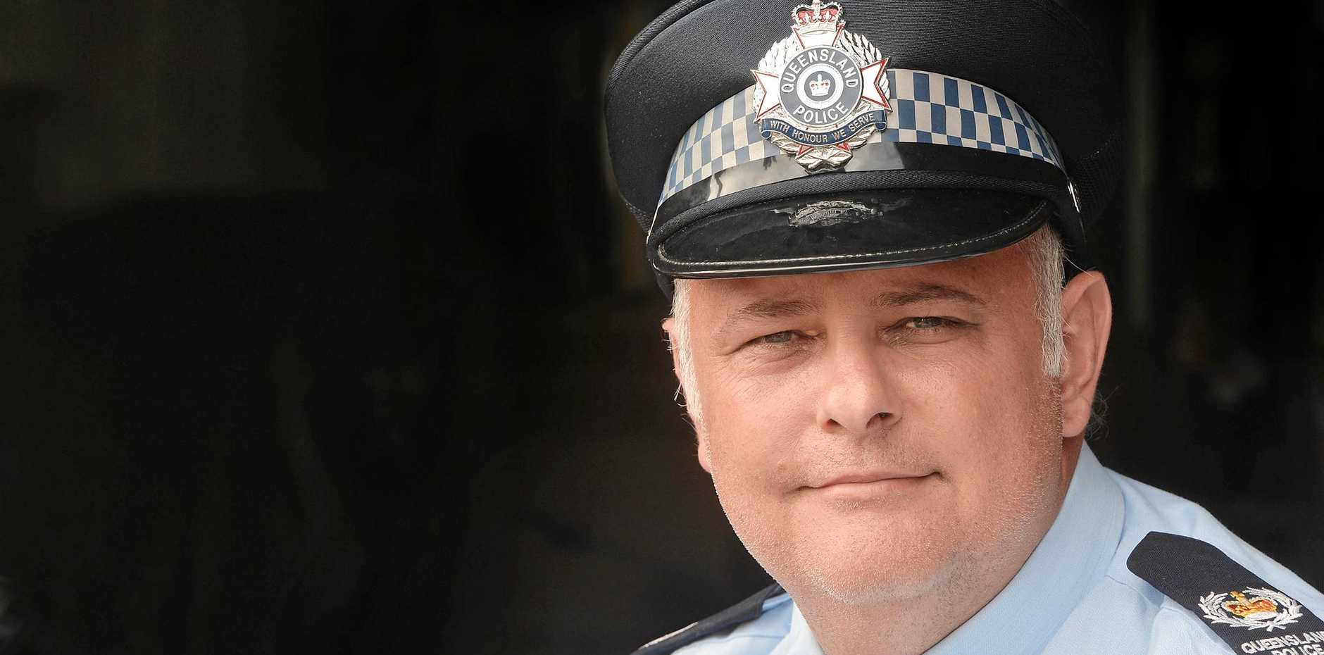 Senior Sergeant Adrian Rieck, officer-in-charge of the Mackay Northern Beaches police, attended the aftermath of a horrific explosion 30km south of Charleville about 10pm on September 5, 2014, rescuing firefighters and civilians with colleagues. The blast was heard about 30km away.