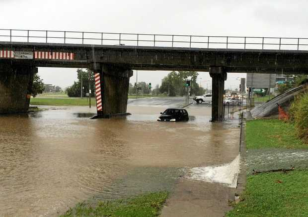 DO YOUR CHECKS: Recent flooding in Gladstone could see dodgy private sellers looking to offload second-hand cars cheap after receiving water damage.