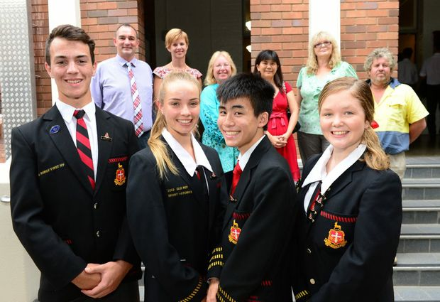 WINNER, WINNER: Rockhampton Grammar School have come out on top.