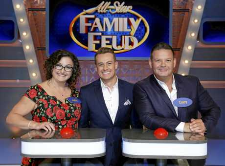 Julie Goodwin, Grant Denyer and Gary Mehigan.