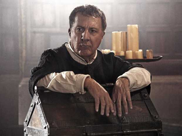 Dustin Hoffman stars in Medici: Masters of Florence.
