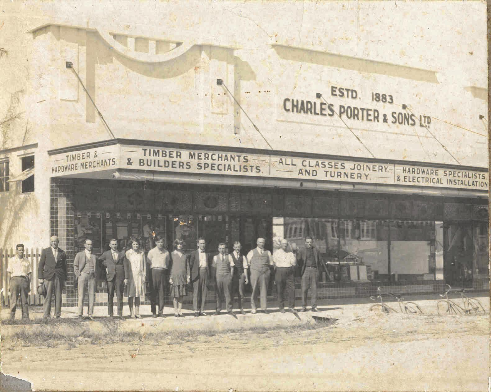 Charles Porter and Co was established in 1883.